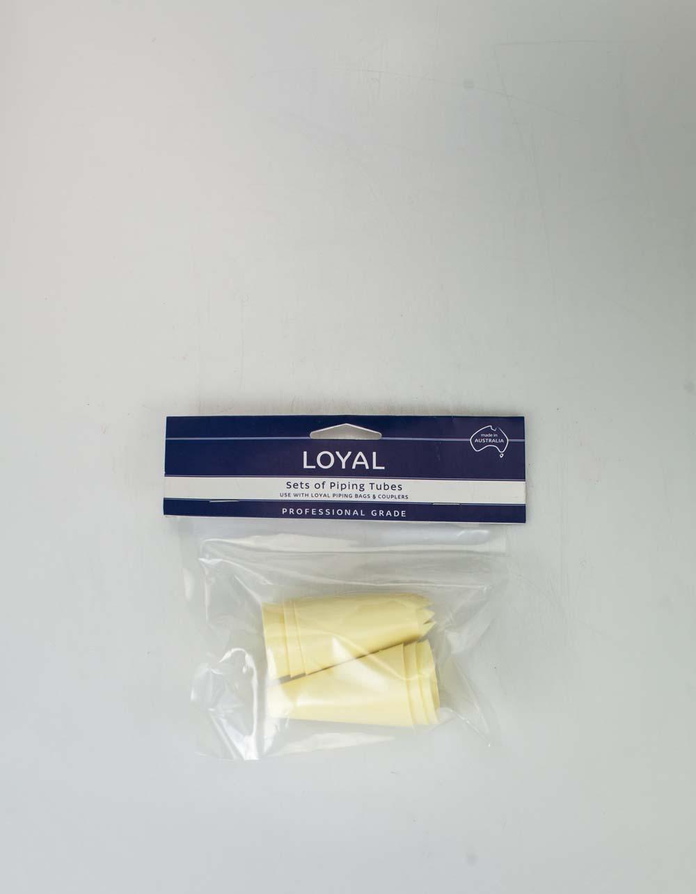 Loyal Professional Grade Polypropylene Piping Tubes - Set of 6