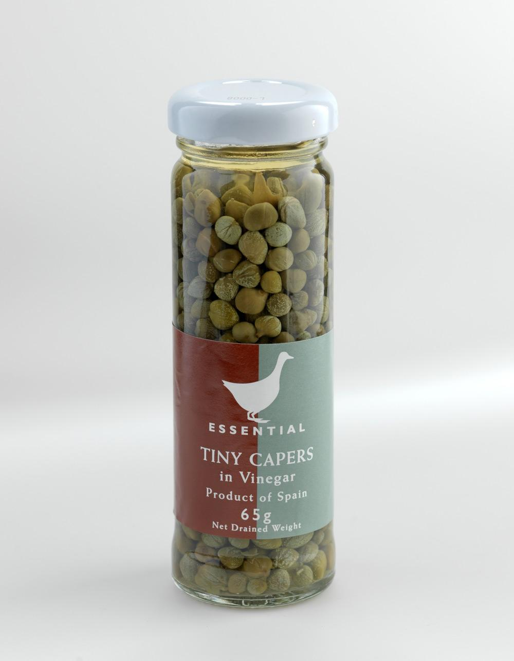The Essential Ingredient Tiny Capers in Vinegar 65g