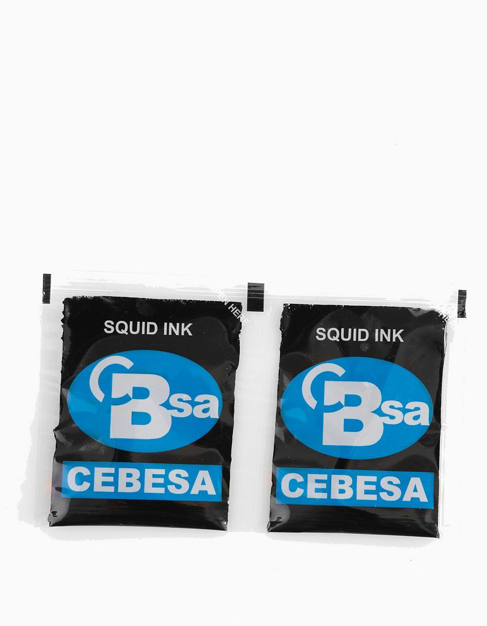 Cebesa Squid Ink Sachets 2 x 4g