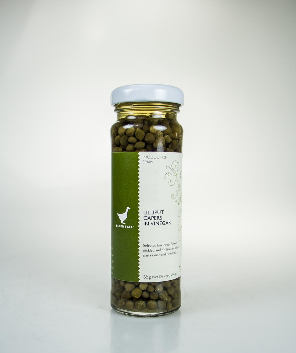 The Essential Ingredient Lilliput Capers in Vinegar 65g