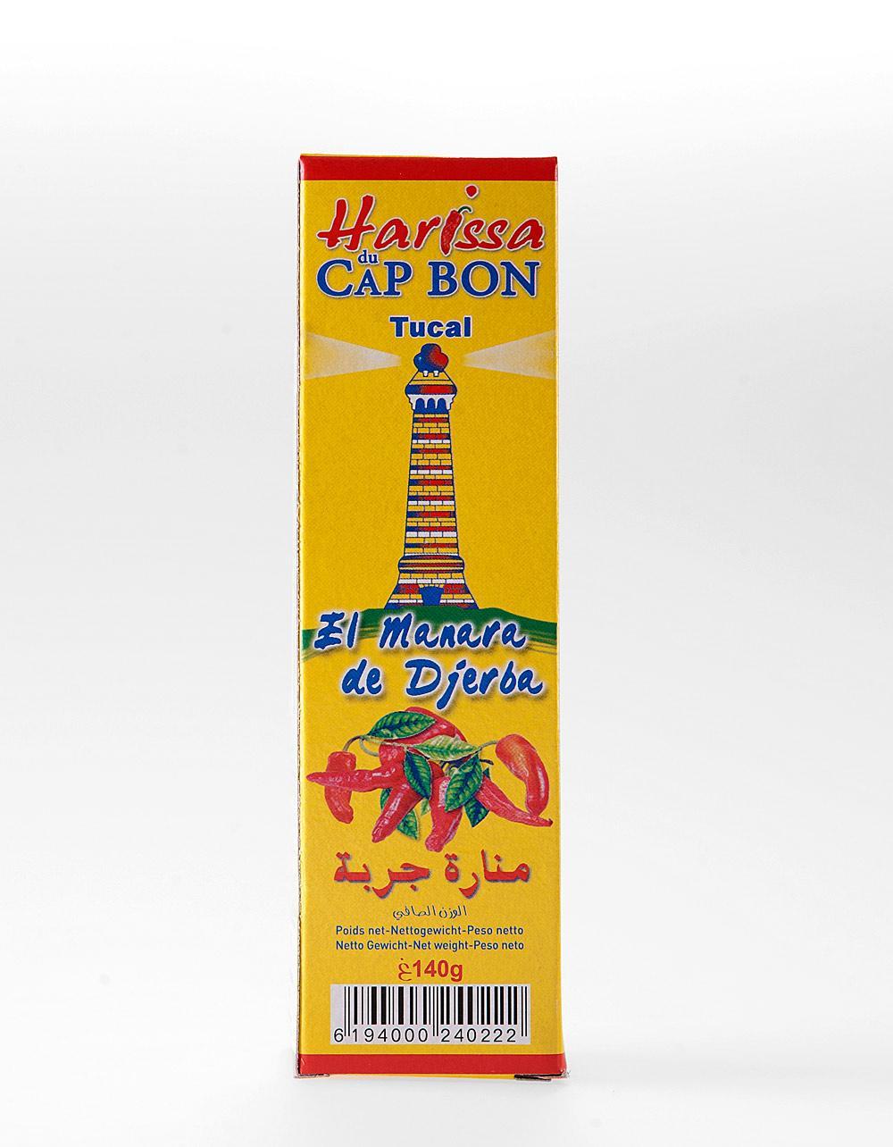 Du Cap Bon Harissa 140g