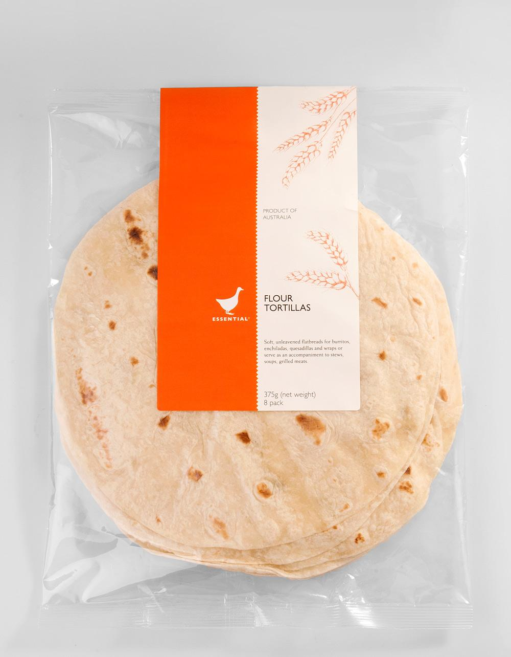 The Essential Ingredient 8 inch Flour Tortillas 8 pack