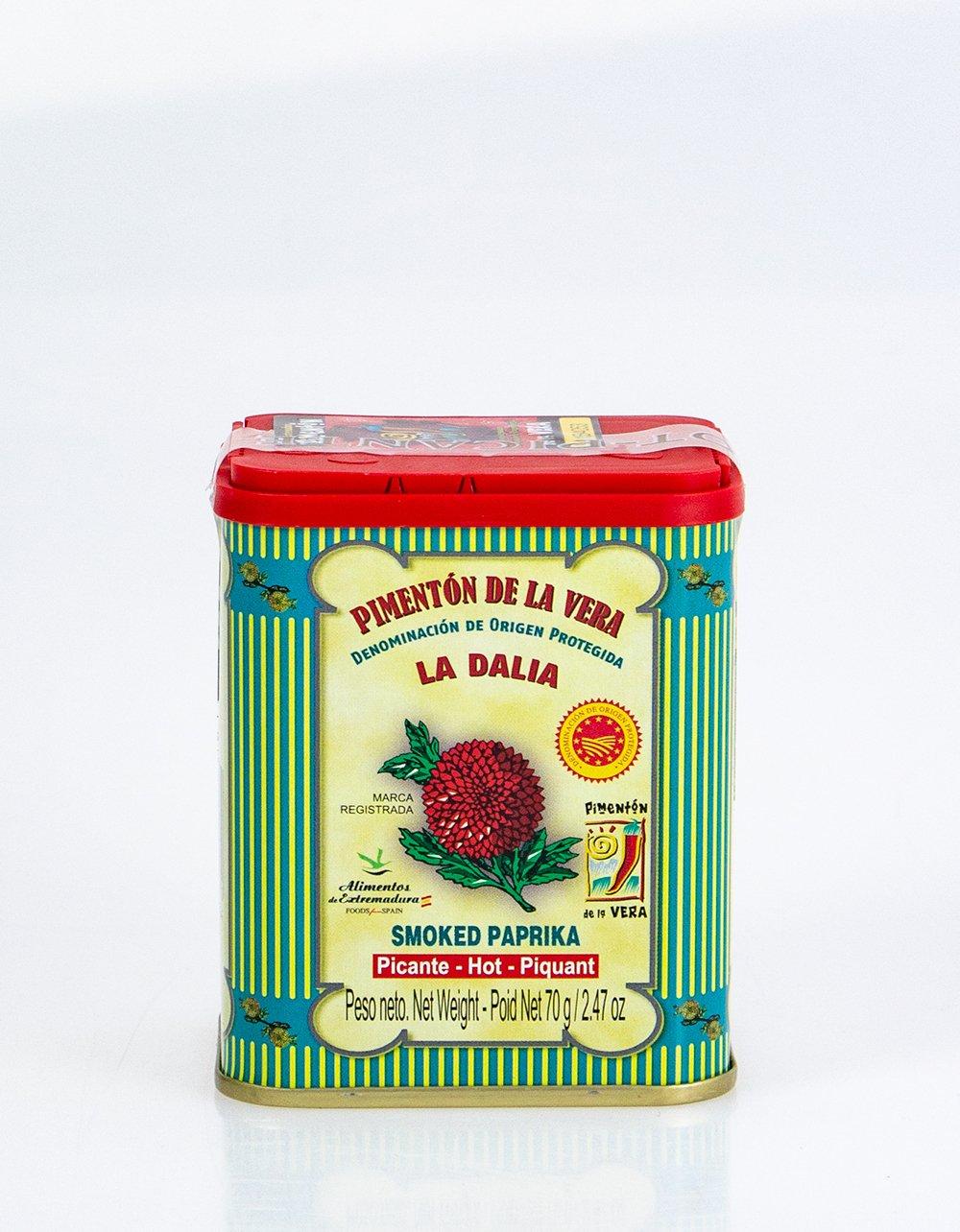 La Dalia Hot Smoked Paprika 70g