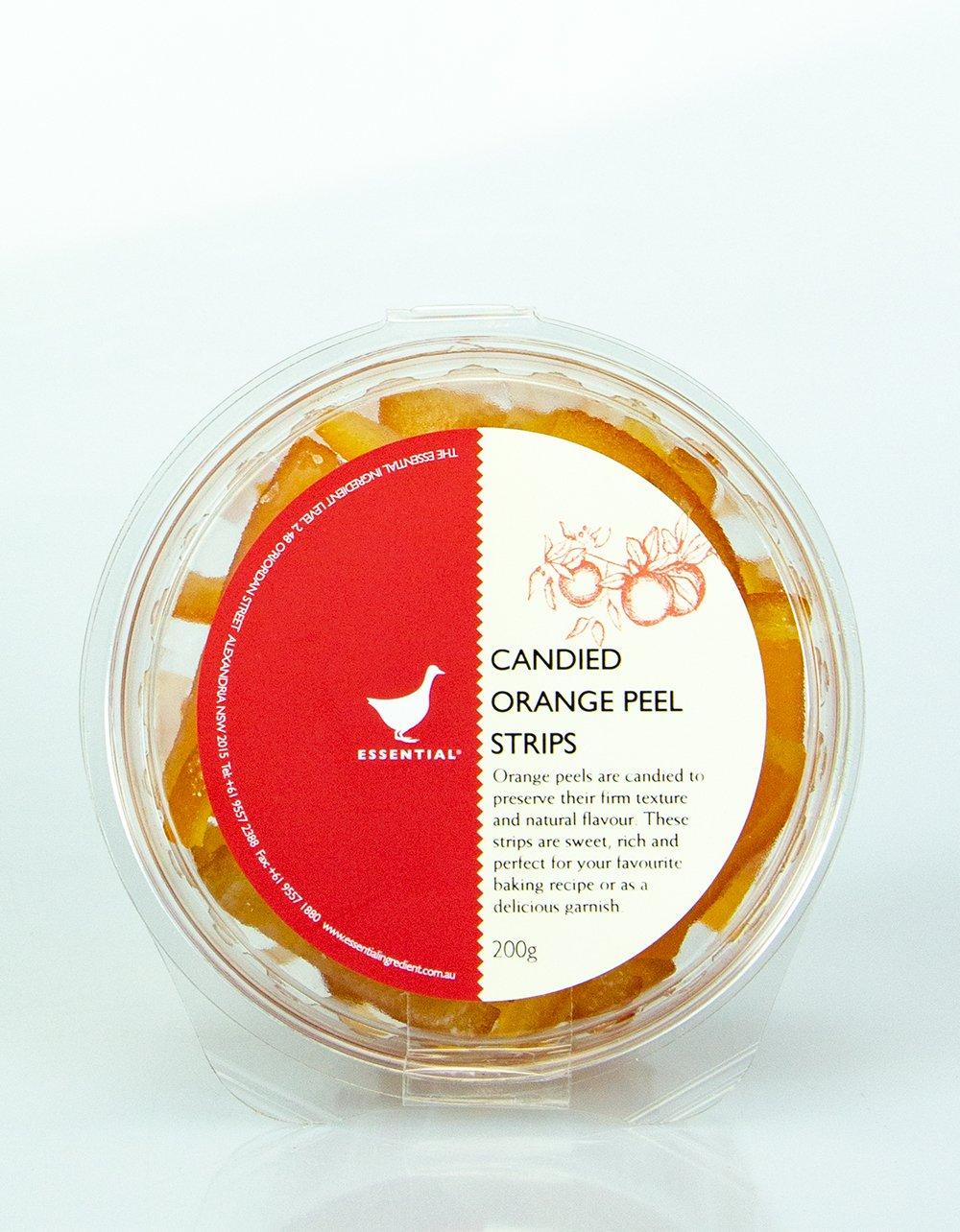 Candied Orange Peel Strips The Essential Ingredient 200g