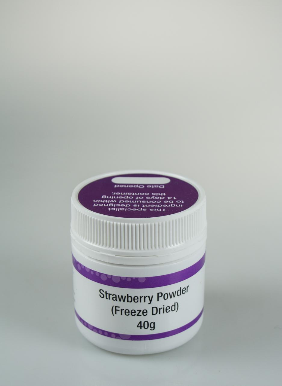 Freeze Dried Strawberry Powder 40g