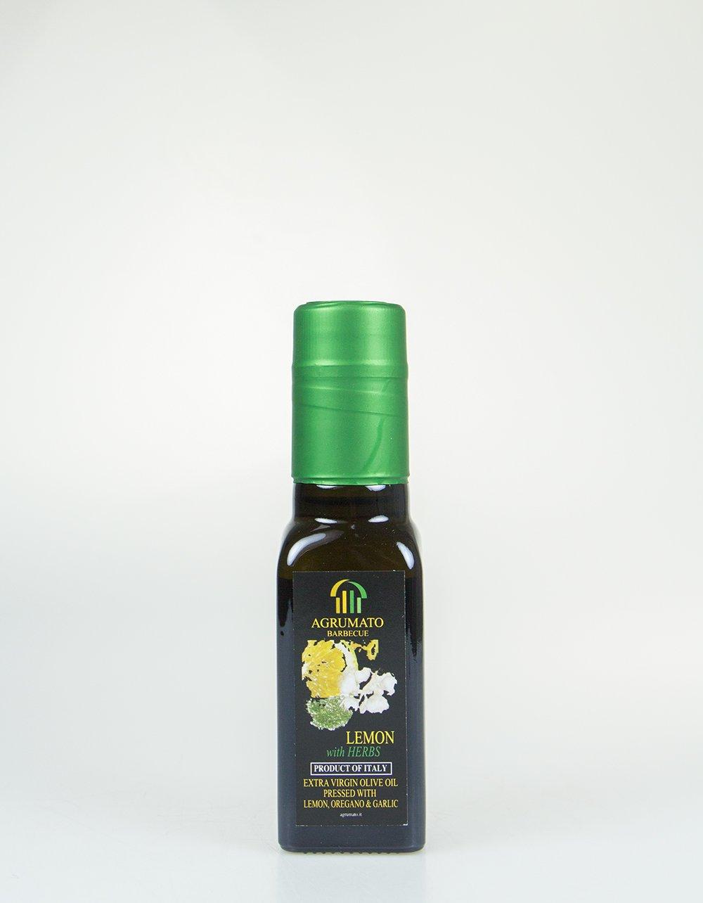 Agrumato Olive Oil with Lemon, Oregano and Garlic SALE 100mL