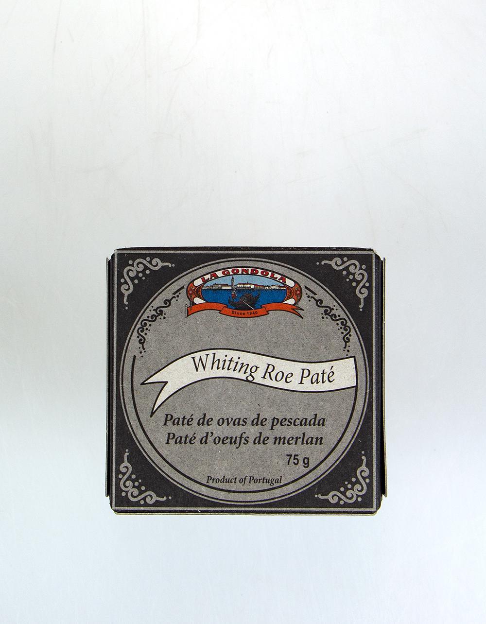 La Gondola Whiting Roe Pate 75g