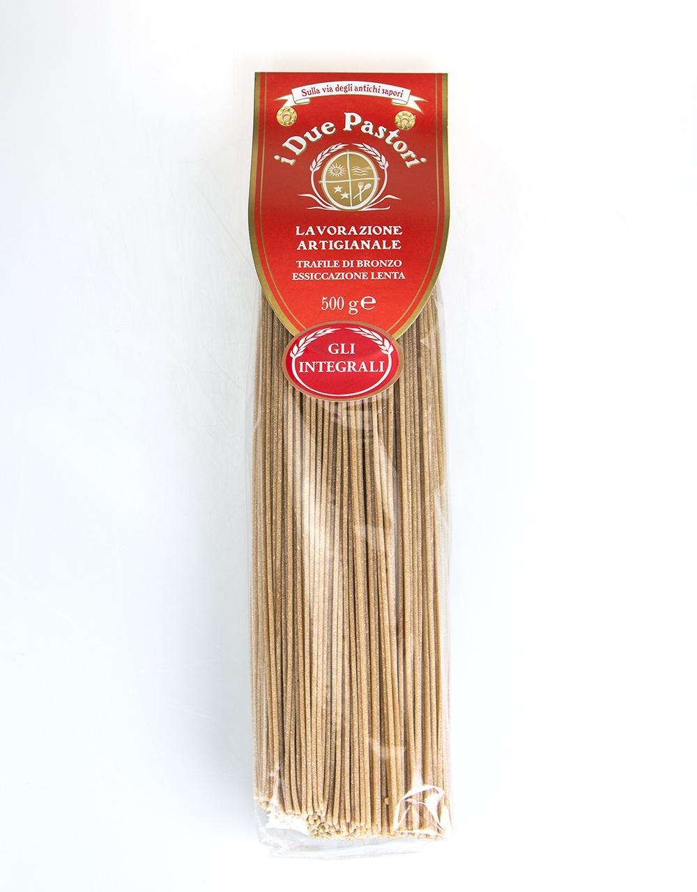 I Due Pastori Wholemeal Spaghetti 500g
