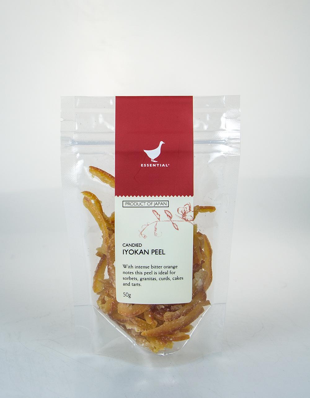 Candied Iyokan Peel The Essential Ingredient 50g