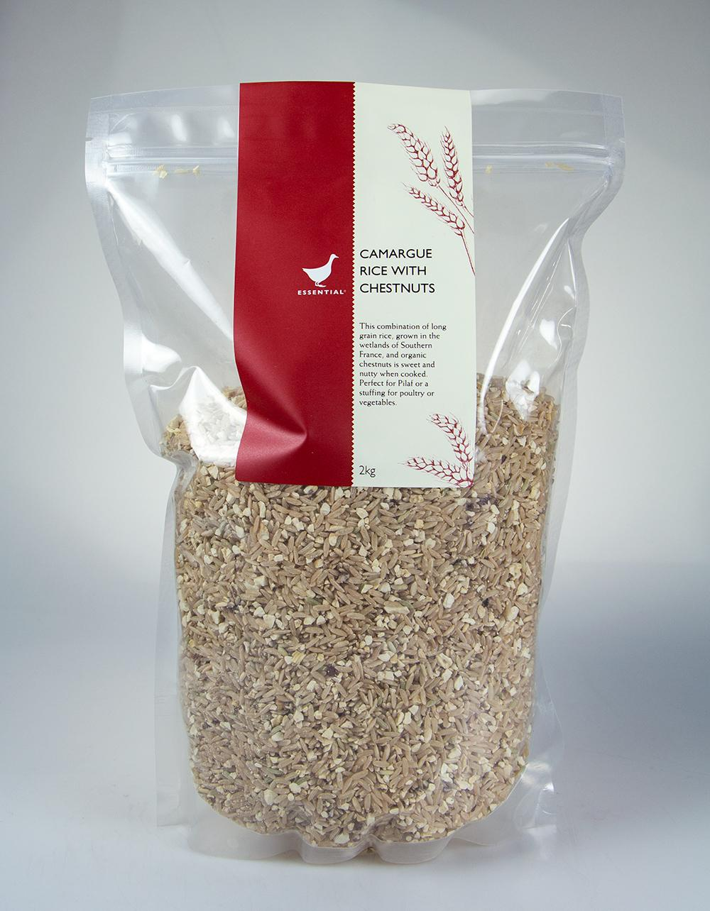 The Essential Ingredient Camargue Rice with Chestnuts 2kg
