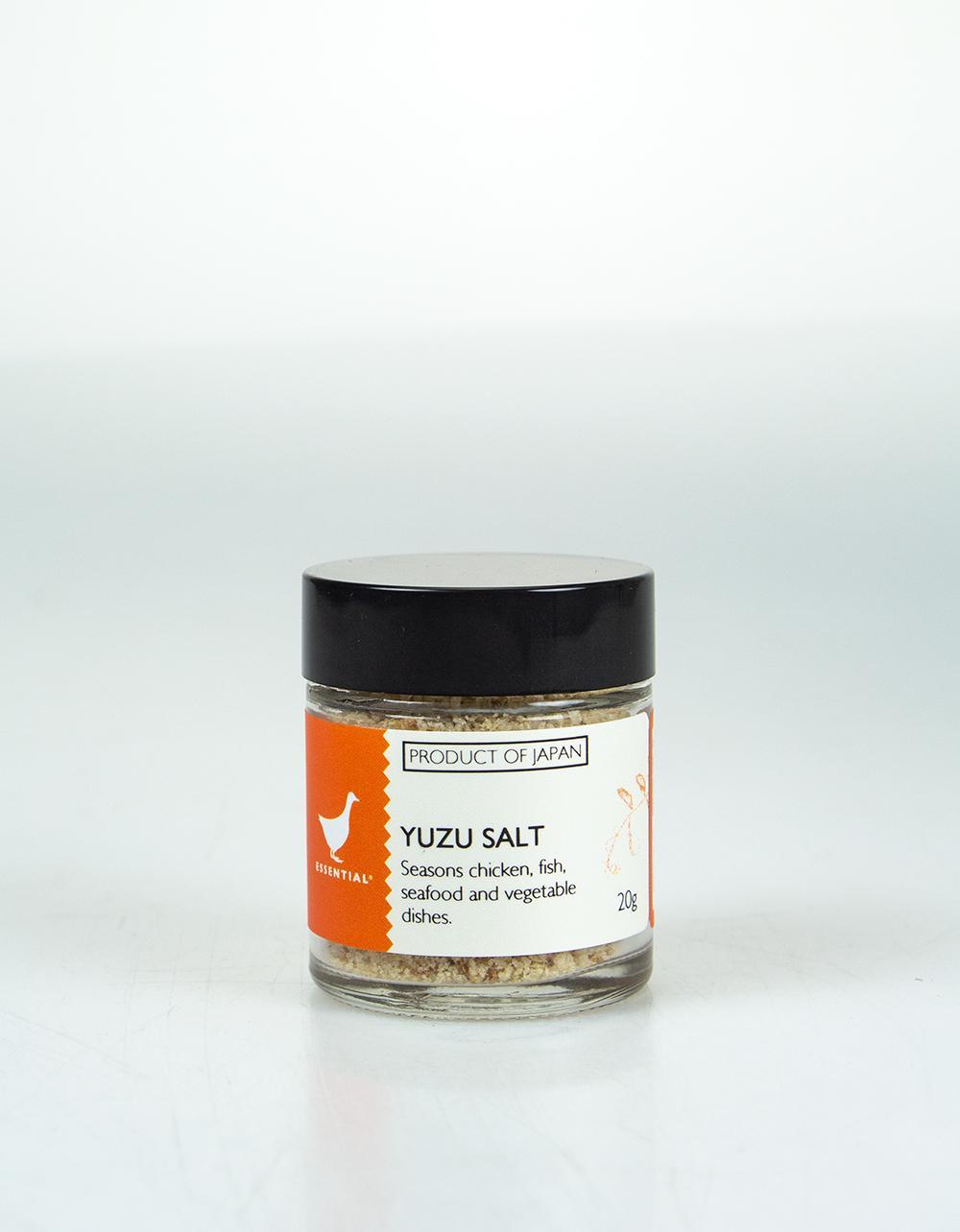The Essential Ingredient Yuzu Salt 20g