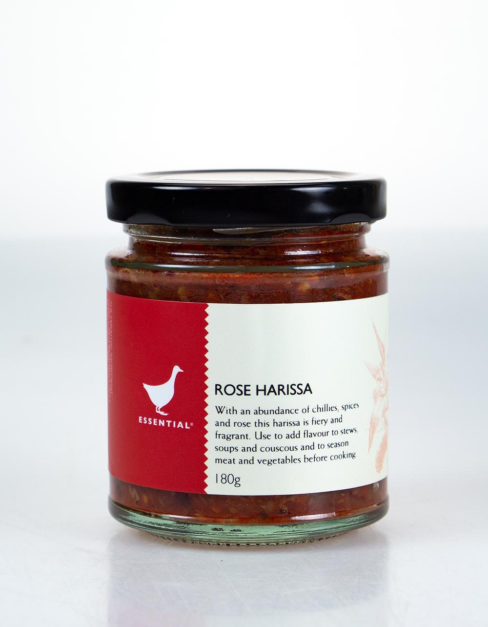 The Essential Ingredient Rose Harissa 180g