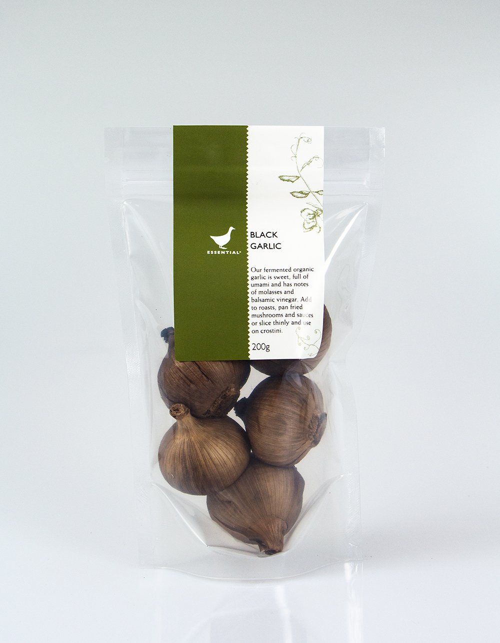 The Essential Ingredient Organic Black Garlic 200g