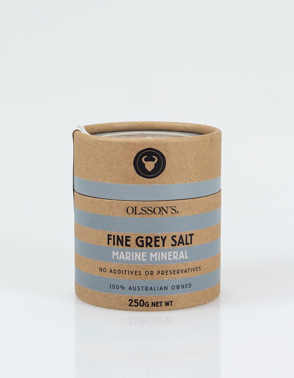 Olsson's Fine Gray Salt 250g