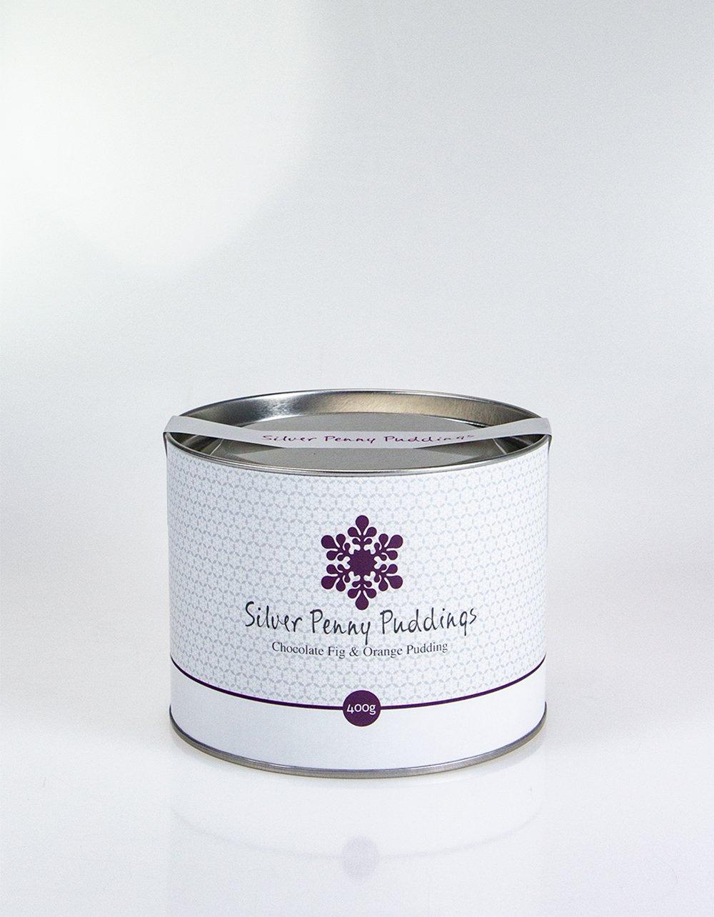 Australian Silver Penny Puddings Chocolate Fig & Orange Pudding 400g