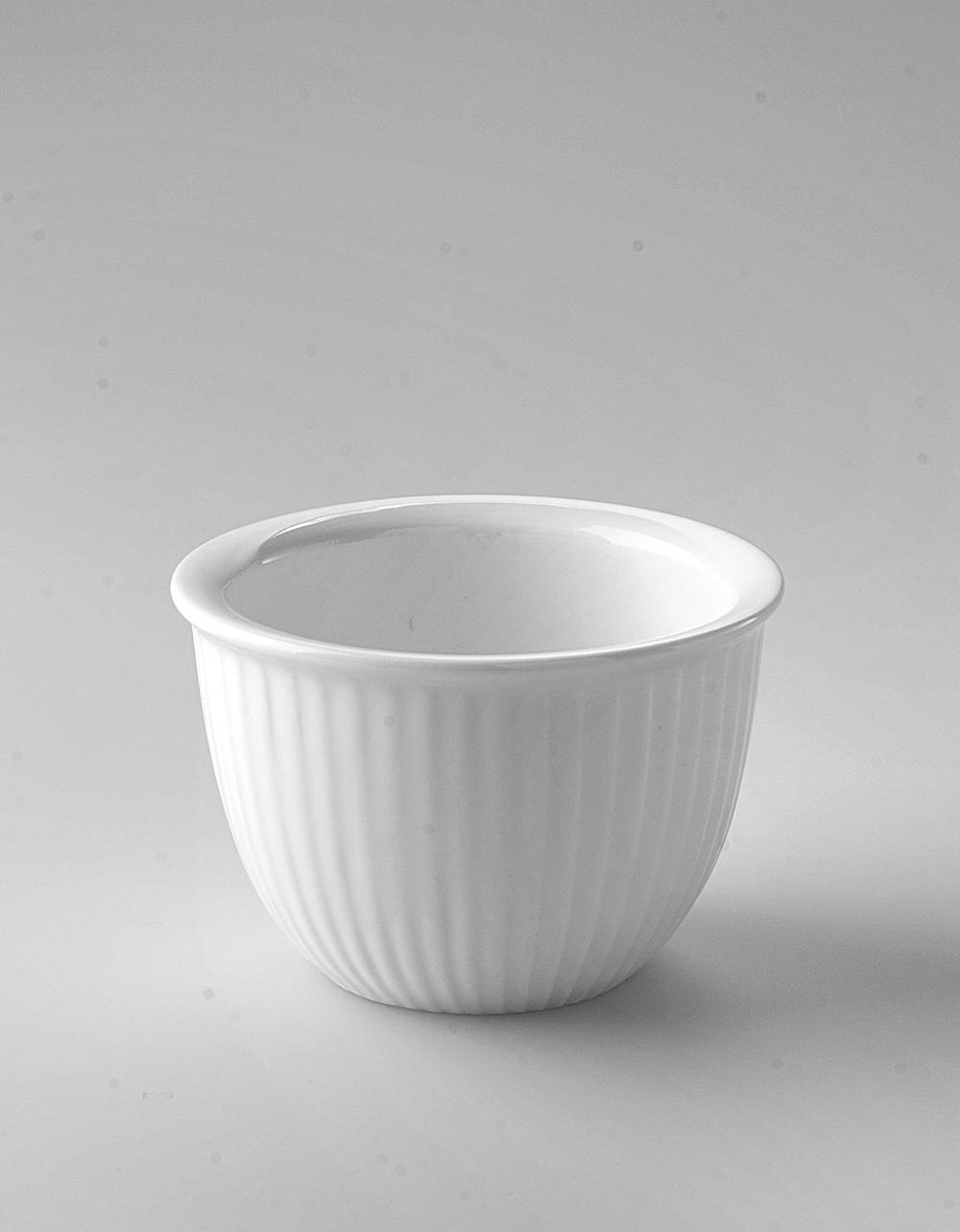 The Essential Ingredient White China Custard Cup 180ml