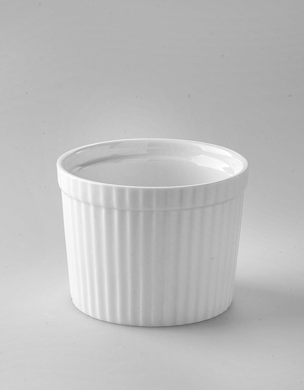 The Essential Ingredient White China High Ramekin 250ml