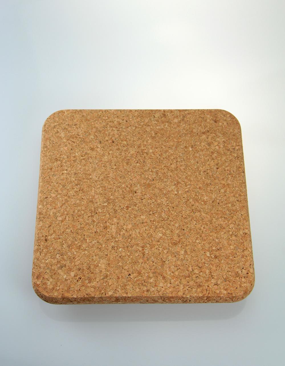 The Essential Ingredient Cork Mat Square 25cm x 25cm x 2cm