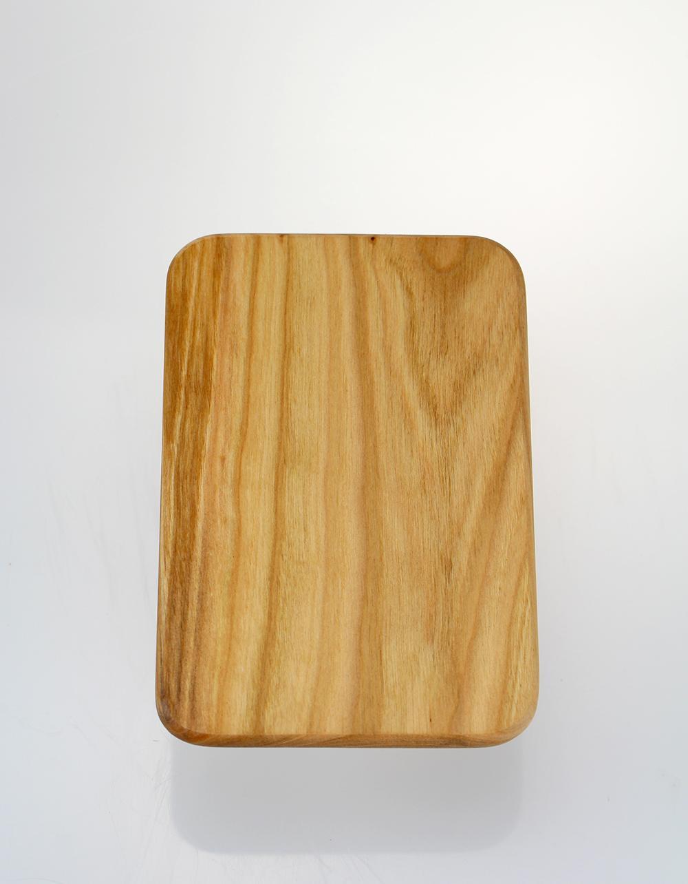 The Essential Ingredient Cherry Wood Chopping Board 18cm x 12cm x 1cm