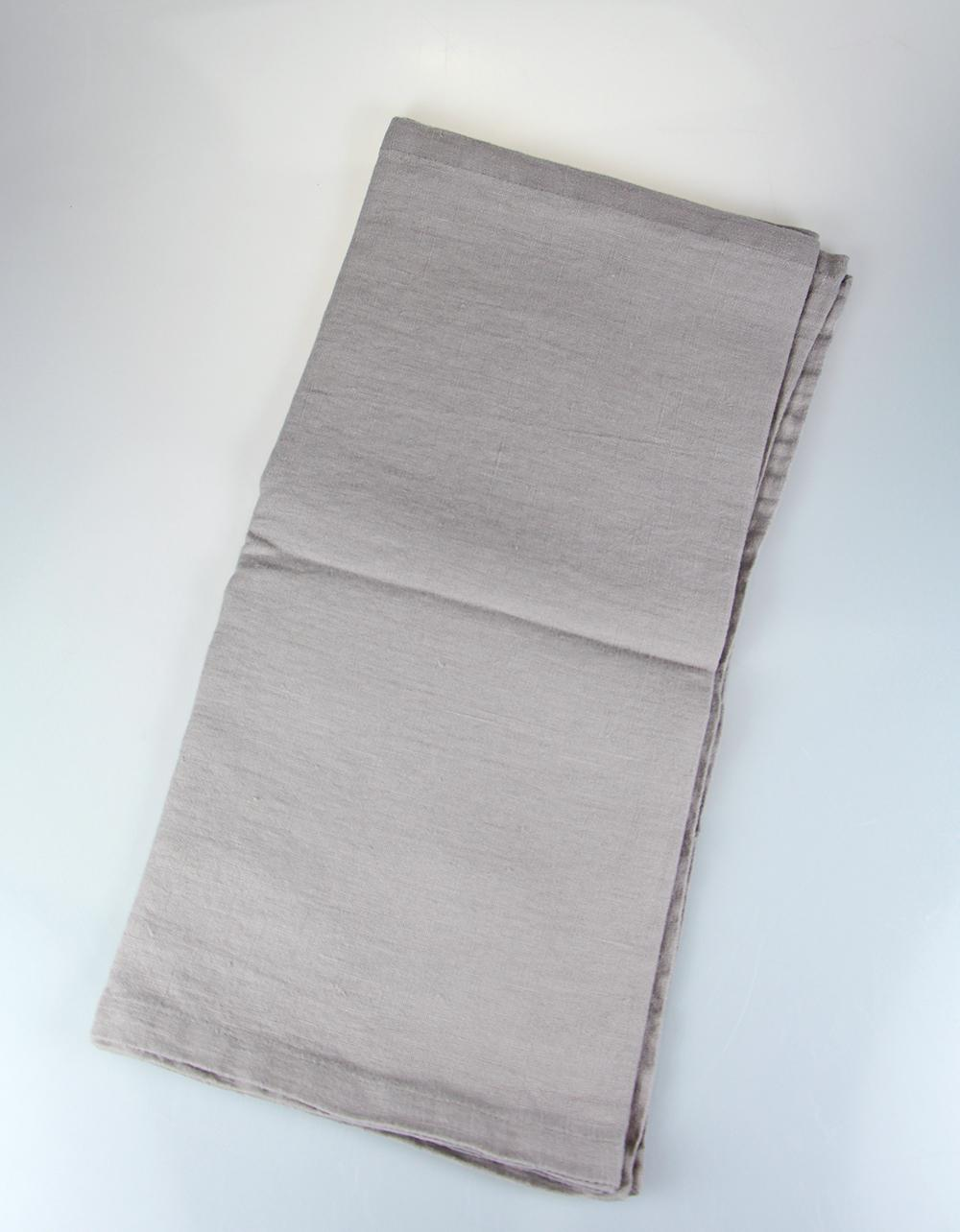 The Essential Ingredient Pure Linen Table Runner - Beige 45cm x 180cm
