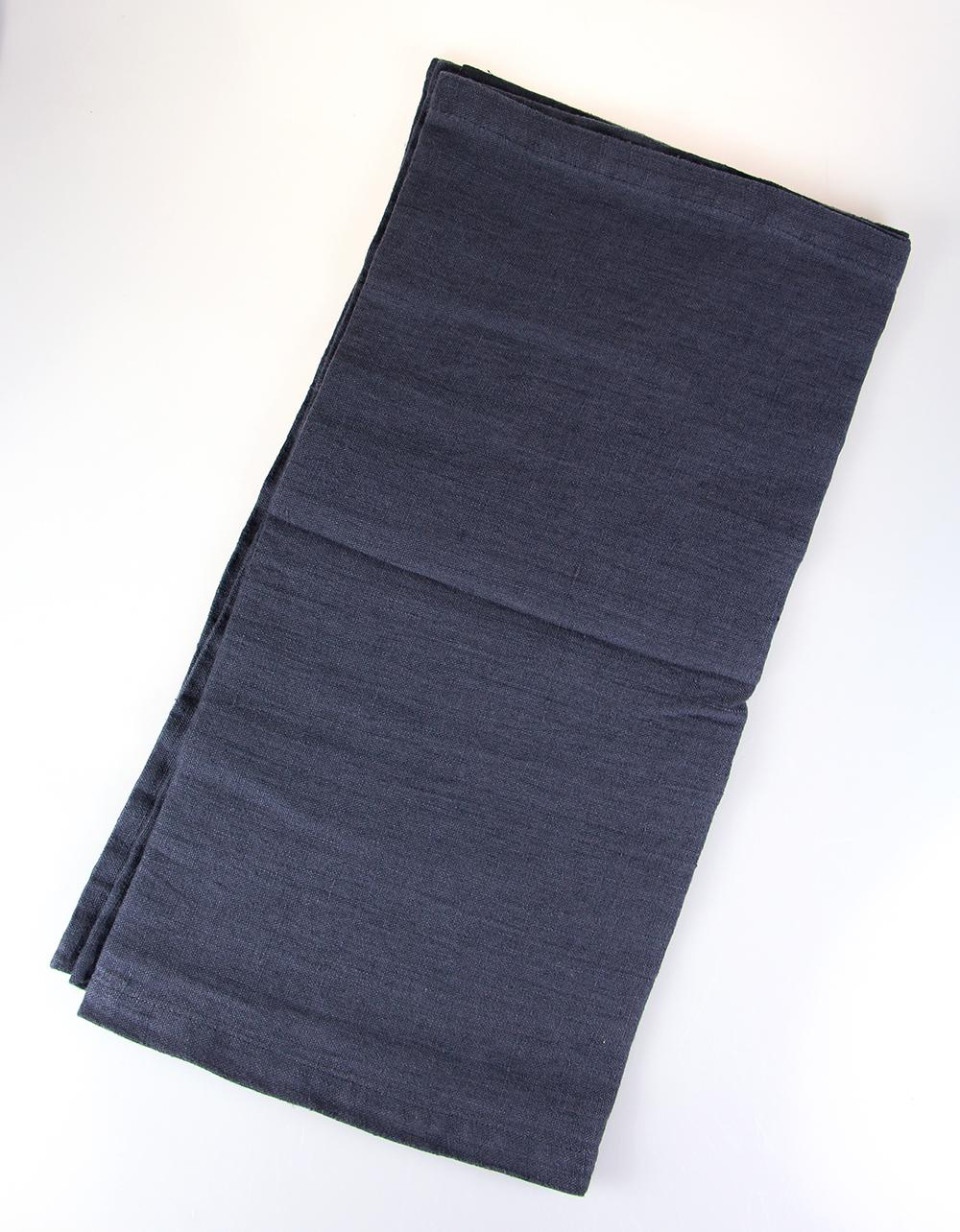 The Essential Ingredient Pure Linen Table Runner - Charcoal 45cm x 180cm