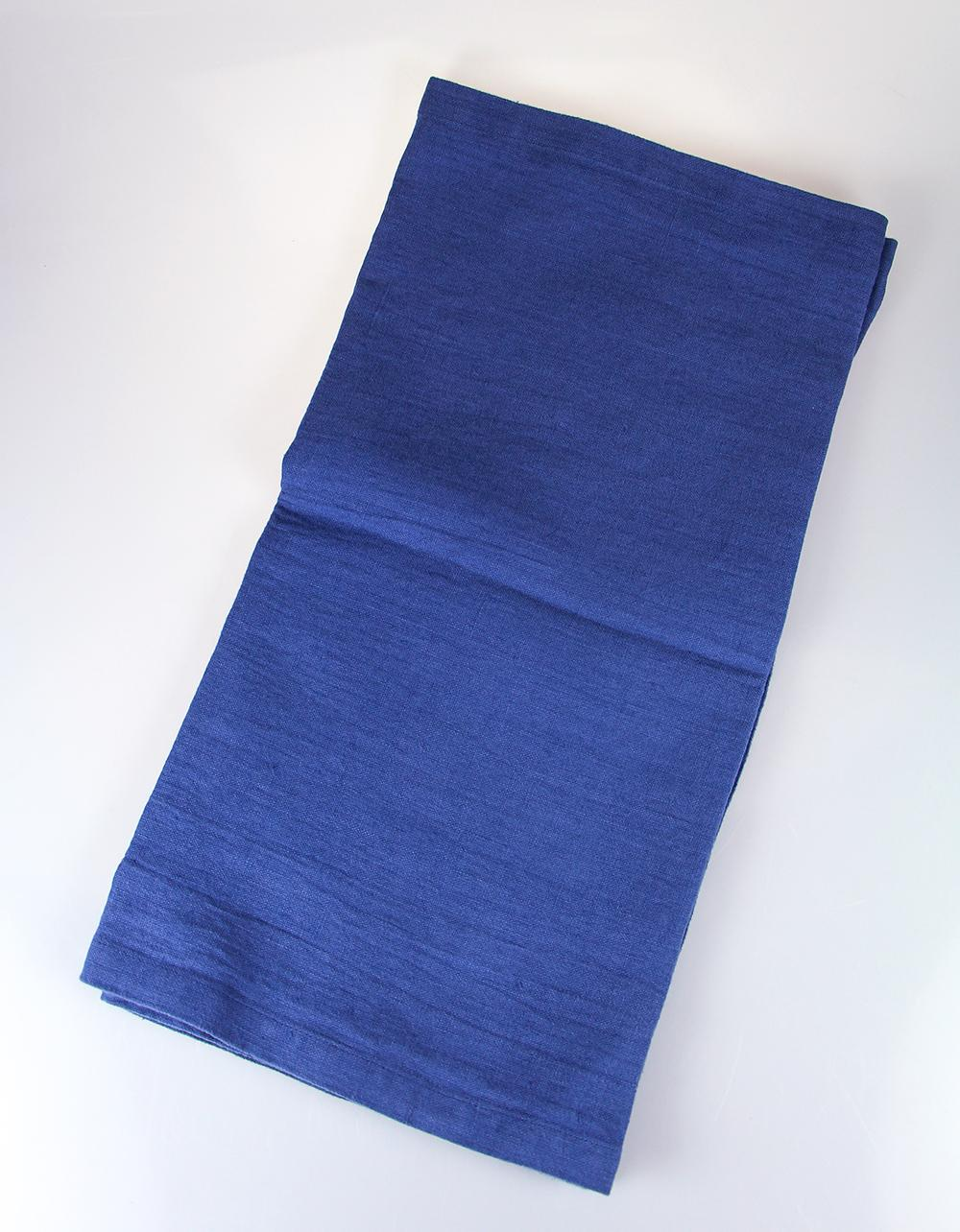 The Essential Ingredient Pure Linen Table Runner - Blue 45cm x 180cm