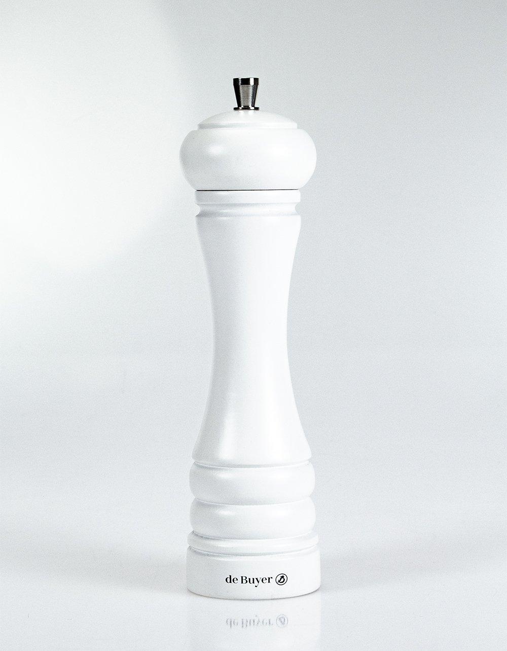 Marlux Java Pepper Mill - Matte White 21cm