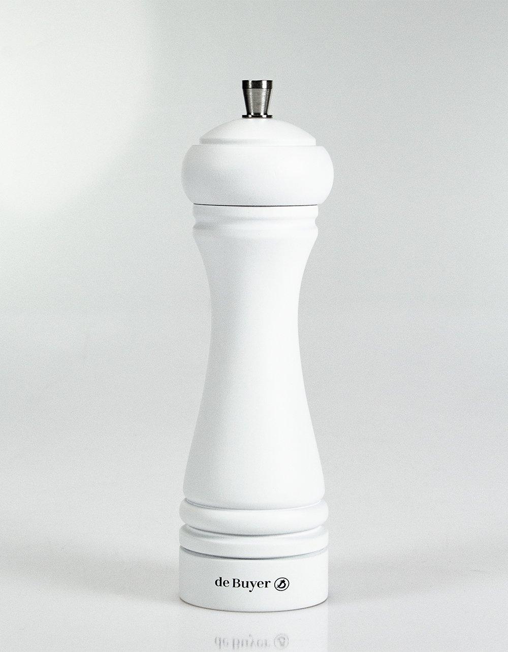 Marlux Java Salt Mill - Matte White 18cm