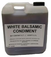 Carlo Magno White Balsamic Dressing 5L
