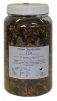 The Essential Ingredient Dried Mushrooms - Yellow Chanterelles 250g
