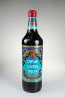 Marnier Desgouttes Crème de Cassis de Dijon Cooking Liqueur 15% Vol. 1L