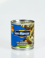 San Marcos Pickled Whole Jalapeno Peppers 198g