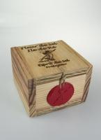 Fleur de Sel Wooden Box 100g