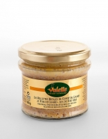 Valette Confit Duck Rillettes from Perigord with 23% Foie Gras 180g