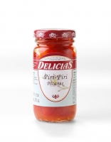 Delicias Piri Piri Picante Red Chilli Peppers in Vinegar 90g