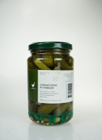 The Essential Ingredient Cornichons in Vinegar 350g