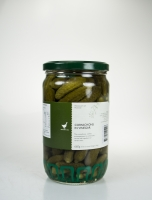 The Essential Ingredient Cornichons in Vinegar 660g