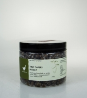 The Essential Ingredient Tiny Capers in Salt 250g