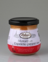 Delouis Mustard with Espelette Pepper 125g