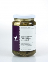 The Essential Ingredient Small Organic Caperberries in Vinegar 180g