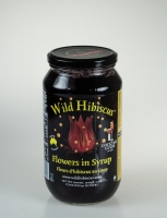 Wild Hibiscus Flowers in Syrup (50 Flowers) 1kg