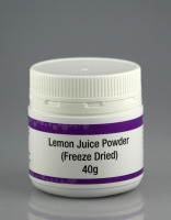 Freeze Dried Lemon Juice Powder 40g
