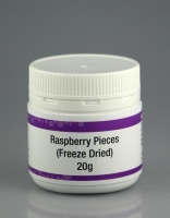 Freeze Dried Raspberry Pieces 20g