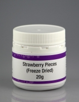 Freeze Dried Strawberry Pieces 20g