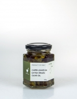 The Essential Ingredient Caper Leaves in Extra Virgin Olive Oil 100g