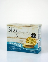 Stag Cocktail Water Biscuit with Seaweed 125g