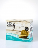 Stag Cocktail Oatcakes wth Seaweed 125g