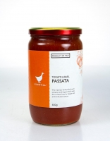 The Essential Ingredient Tomato and Basil Passata 650g