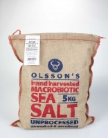 Olsson's Macrobiotic Raw Sea Salt 5kg