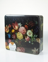 La Trinitaine Butter Biscuits Floral Tin 600g